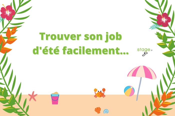 Comment trouver son job d'été ?
